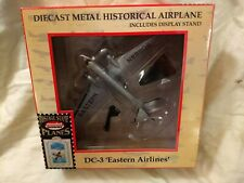 Model power postage stamp plane. DC-3 Eastern Airlines. N88808. In box.