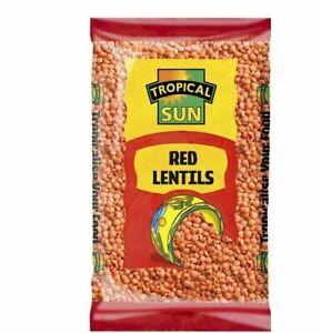 Tropical Sun Red Lentils 5KG