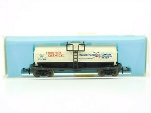 N Scale Atlas 2262 UCLX Frontier Chemical Single Dome Tank Car #1012