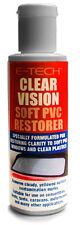 E-TECH Clear Vision Soft PVC Plastic Windows & Surface Restorer Cleaner Polish