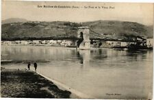 CPA  Les Roches-de-Condrieu (Isére) - Le Pont et le Vieux Port   (241505)