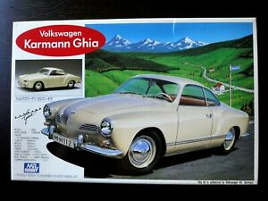 GUNZE 1/24 VW KARMANN-GHIA COUPE 1963 Model Nostalgic ,Vintage & Steal !!