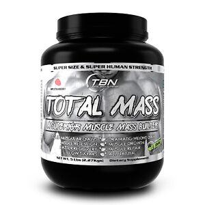 Weight gainer, Total Mass, Mass Gainer, Muscle Builder, Strength.