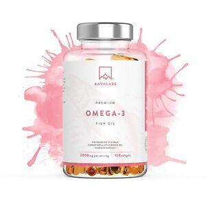 A Omega 3 Fish Oil 2000mg High Strength Molecularly Distilled