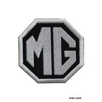 MG Motor Car Racing Brand Embroidered Iron On Sew On Patch Badge For Clothes