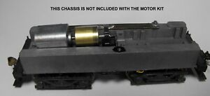 HO SCALE MDC ROUNDHOUSE BOXCAB or CLIMAX CAN MOTOR FLYWHEEL RE-GEAR UPGRADE KIT