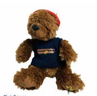 "Boyds Bears Nascar 24 Jeff Gordon Teddy Plush Stuffed Animal Red Head Wrap 8"""