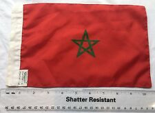 Morocco Red Green Star Africa Flag Bunting Fabric Small Decorative