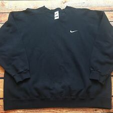 90s VTG NIKE AIR OG EMBROIDERED SWOOSH LOGO DISTRESSED Sweatshirt XL Faded