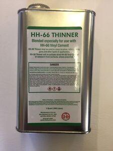 1 US Quart 946ml Thinner for HH66 Vinyl Adhesive Lay-z-Spa Hot Tub Lazy Spa