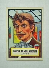 "Topps 1952 ""Look N See"" Trading Card - #23 James A. McNeil Whistler - Rare!"