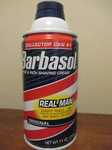 Barbasol 11 oz Shave Cream - Collector's real man gary hall jr beard buster