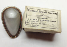 Military Aircraft Type A-7 Running Lamp Light Clear SA1791C Aviation Vintage