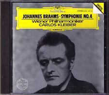Carlos KLEIBER: BRAHMS Symphony No.4 DG CD 1981 Wiener Philharmoniker Sinfonie