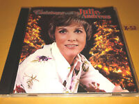 JULIE ANDREWS (mary poppins sound of music) cd CHRISTMAS WITH 14 holiday hits