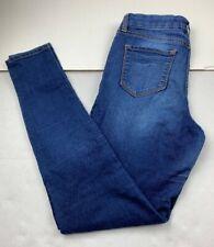 Dear John American Standard Womens Skinny Jeans Size 28 Medium Wash Made In USA