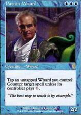 [1x] Patron Wizard [x1] Odyssey Played, English -BFG- MTG Magic
