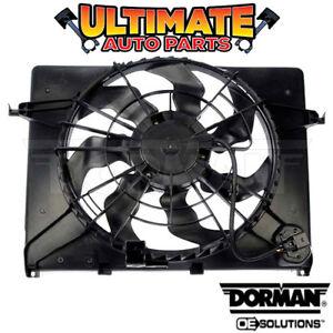 Radiator Cooling Fan (2.4L) w/Resistor for 11-13 Hyundai Sonata (Non-Hybrid)