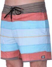 "Billabong String Resin 16"" Board Shorts- Burgandy"