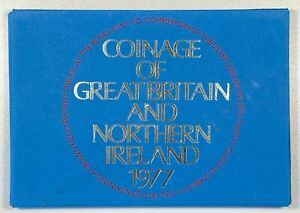 GB ELIZABETH II PROOF SET - 1977 W/CROWN ++ PERFECT FDC / GEM - NO TONING!!! ++