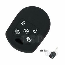 Silicone Cover fit for FORD F150 Mustang Expedition Remote Key 5 Button CV2706BK