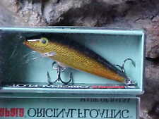 Rapala Orginal Floating F05 G in GOLD for Bass/Walleye/Trout/Pickerel/Perch