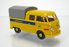 "Wiking 078904 Volkswagen VW T 1 Doppelkabine "" Deutsche Lufthansa """