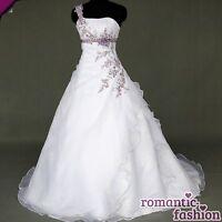 ♥Brautkleid, Hochzeitkleid in Weiß+Gr.34,36,38,40,42,44,46,48,50,52 od. 54♥