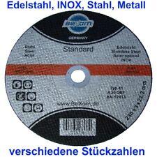 10-TAR-MET-230x3 10x Metalltrennscheiben Flexscheiben Stahl Edelstahl 230 x 3 mm