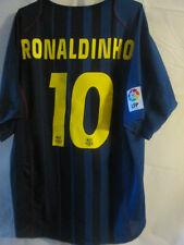 Barcelona 2004-2005 Away Ronaldinho 10 Camiseta De Fútbol Talla Xl / 34115