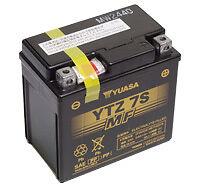 Batterie Moto HONDA 50 Zoomer Yuasa YTZ7S  12v 6Ah