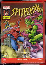 MARVEL Spiderman Series 3: Spider-Man 1995 Comp Season 3 PAL Region 2 DVD Boxset