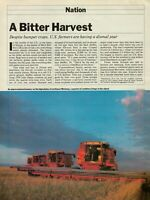 1982 A Bitter Harvest U.S. Farmers Are Having A Dismal Year Article Print