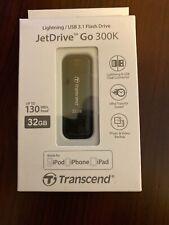 Transcend JetDrive Go 300 Black 32GB USB Flash Drive