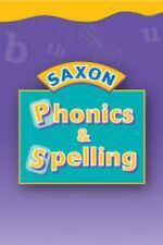 Kindergarten Saxon Phonics and Spelling Student Workbook Materials Grade K