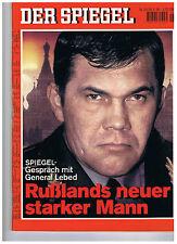 Spiegel-Ausgabe Nr. 26 vom 24.06.1996 - Rußlands neuer starker Mann- LEBED-