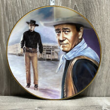 "John Wayne ""Showdown with Laredo� Collector's Plate from ""Angel and the Badman�"