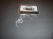 vintage oasis concert tour t shirt mens xs cassette tape liam noel gallagher
