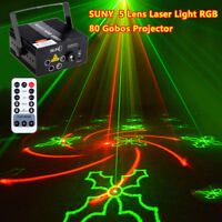 SUNY RGB DMX LED DJ Disco Light Stage Bar House Laser Licht Beleuchtung