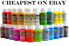 2oz Decoart Crafters Acrylic Paint All Colours Art Craft Water based Artist New