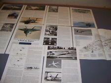 VINTAGE..YF-23A & YF-22A VARIANTS..CUTAWAY/3-VIEWS/SPECS/HISTORY..RARE! (808H)