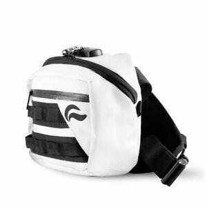 Skunk Kross Smell Proof Odor Proof Bag with Combo Lock Stash Bag - WHITE