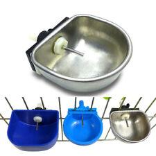Hase Automatisch Getränke Wasser Futterspender Napf Edelstahl /Plastik Zubehör1x