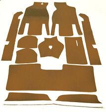 Cognac loop carpet set for Opel Kadett A Coupe / Lim. 1962-1965 Carpet Kit