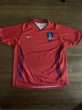 Nike South Korea Soccer Jersey Red World Cup 2006 Size XL