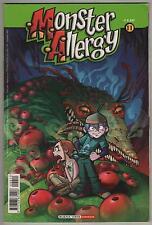 MONSTER ALLERGY N.11 L' ANGUANA DI ER 1a prima edizione buena vista disney 2004