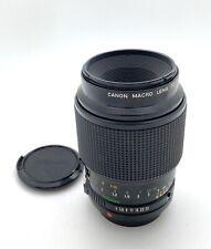 Canon FD Macro 100mm f4 Camera Lens  w/ Cap, CLEAN!