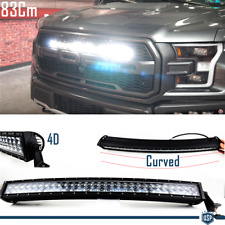 1 x Barra LED CURVA 6000K per FORD Ranger Kuga SUV 83Cm POTENTE Bianco Luce SPOT