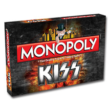 BRAND NEW WINNING MOVES MONOPOLY: KISS MONOPOLY 002282 BOARD GAMES