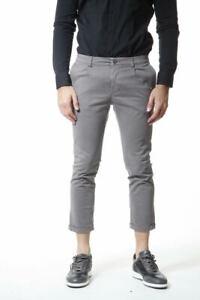 Pantaloni Daniele Alessandrini Jeans Trouser Uomo Grigio PJ5265L3003306 11